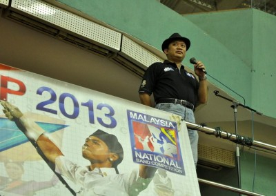 Emcee for Malaysia National Marching Band Competition (NATCOMP), June 2013